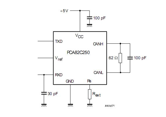 pca82c250电路图
