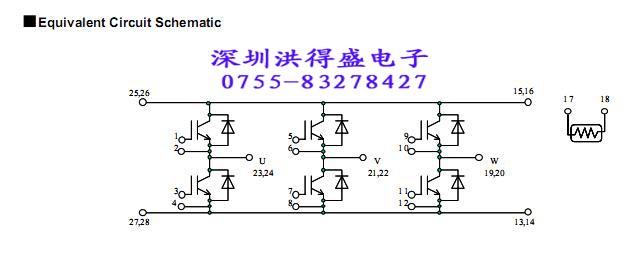 6mbi50ua-120 触发电路