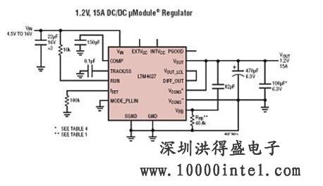 ltm4627 电路应用
