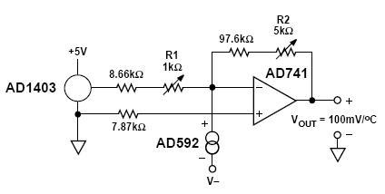 ad592 应用电路