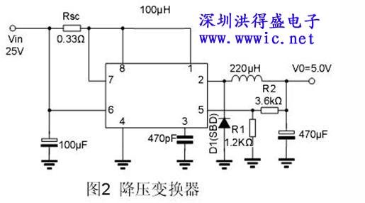 mc34063应用电路图